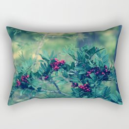 Red berries Rectangular Pillow
