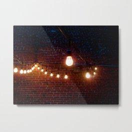 Lightbulbs Metal Print