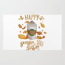 Happy Pumpkin Spice Season Rug