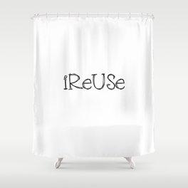 Reusable  Shower Curtain