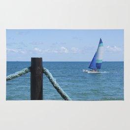 Idylic sea scape Rug