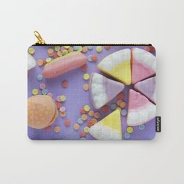 Purple Gummy Candy Carry-All Pouch