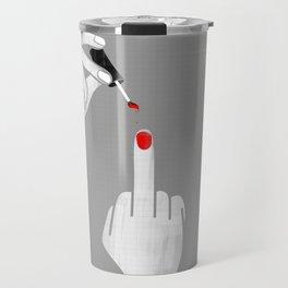 F*** Nail Polish Travel Mug