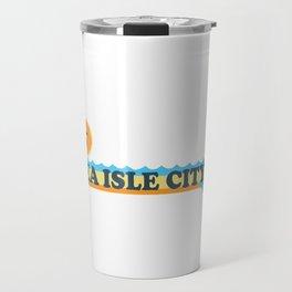 Sea Isle City - New Jersey. Travel Mug
