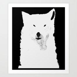 THE RUFFLED BEAR Art Print