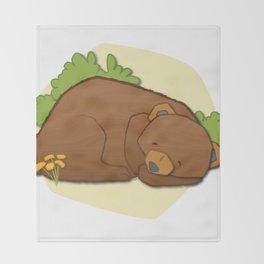 Sleeping Bear Throw Blanket