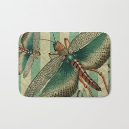 5 Grasshoppers Bath Mat
