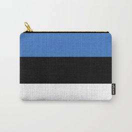 Flag of Estonia - Estonian,Eest,Baltic,Finnic,Sami, Skype,Arvo Part,Tallinn,Tartu, Narva,Snow, Cold Carry-All Pouch