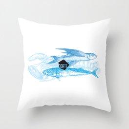 Blue Ocean 01 Throw Pillow