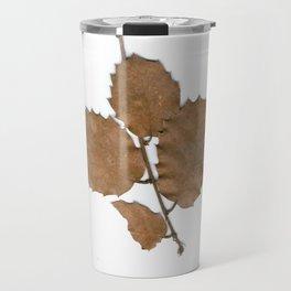 Quercus leaves Travel Mug