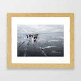 Ice Gang Framed Art Print