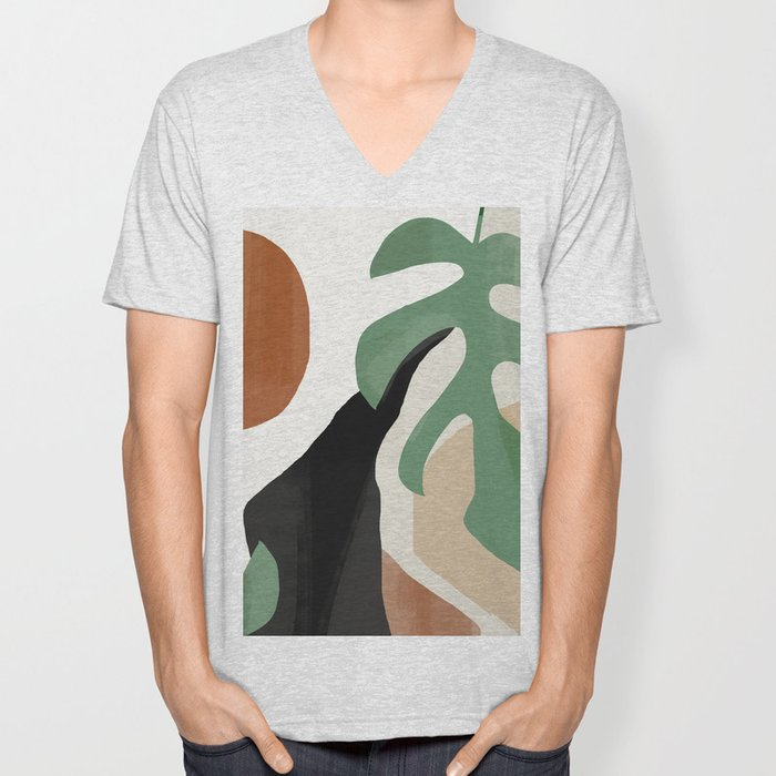 Abstract Art 37 Unisex V-Neck