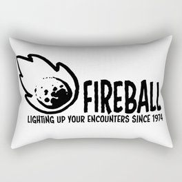 Fireball - lighting up your encounters since 1974 Rectangular Pillow