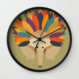 Echidna Wall Clock
