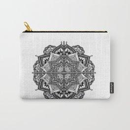 Mandala Fleur Carry-All Pouch