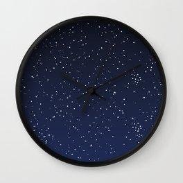 Star Gazing Wall Clock