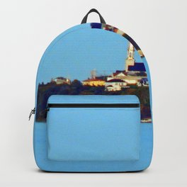 Tourelle on the Edge of the Sea Backpack