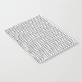 New York (photo filled type on white) Notebook