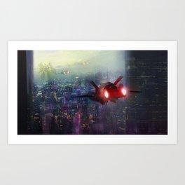 INVADER Art Print