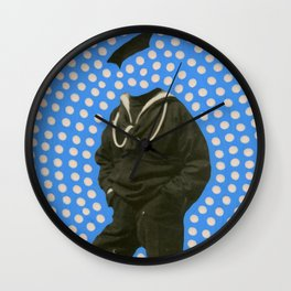 The Invisible Sailor Wall Clock