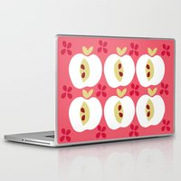 apple Laptop & iPad Skins featuring apple by ottomanbrim