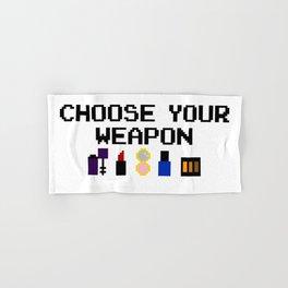 Lip-stick to Your Guns Hand & Bath Towel
