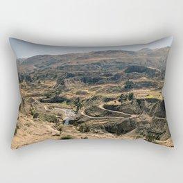 Colca Canyon Panorama Rectangular Pillow