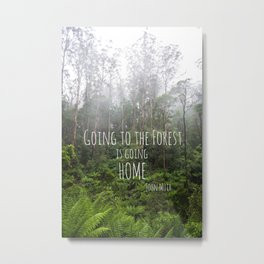 Going to the Forest Metal Print