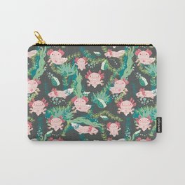 Baby Axolotl Carry-All Pouch