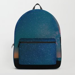 Desert Summer Milky Way Backpack
