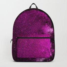 Fuchsia Galaxy Backpack