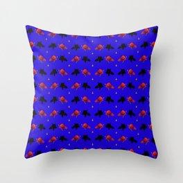 Cute Devil Pattern Throw Pillow