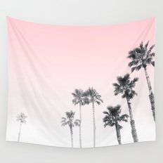 Tranquillity - pink sky Wall Tapestry