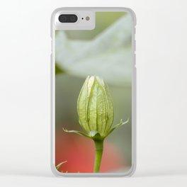 Rose Bulb Clear iPhone Case