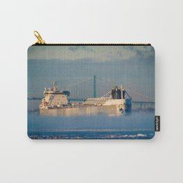 Freighter Out of the Fog Carry-All Pouch