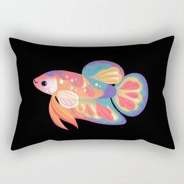Koi betta Rectangular Pillow