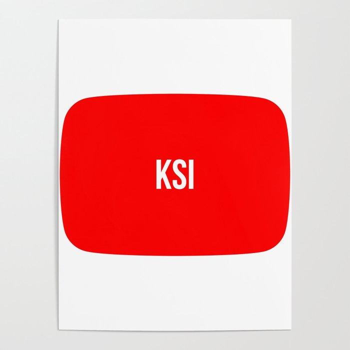 KSI Poster By Moondoodesign
