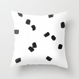 Dashing Strokes Throw Pillow