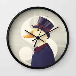 Justice Ducks - The Zillionaire Wall Clock