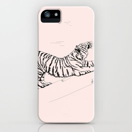 Tiger and Sun I. iPhone Case