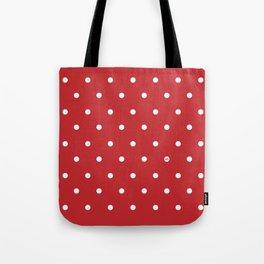 POLKA DOTS RED #minimal #art #design #kirovair #buyart #decor #home Tote Bag