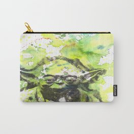 May the Force be with You Yoda Star Wars Carry-All Pouch