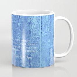 SERENITY PRAYER: BLUE BARN Coffee Mug