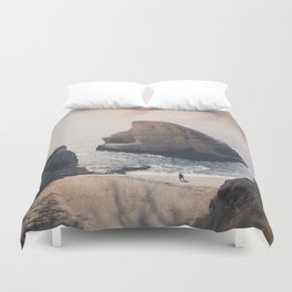 Shark Fin Cove Duvet Cover