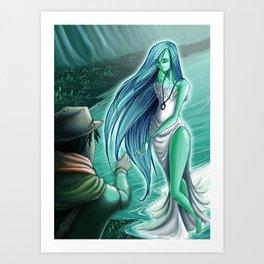 Moonlight-3 Art Print