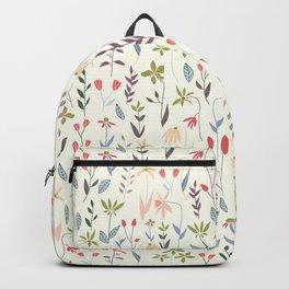 Wildflowers in the Air Sage Backpack