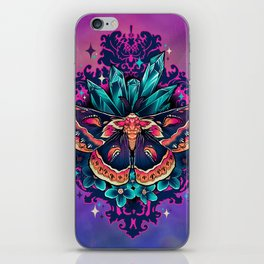 Cecropia Moth iPhone Skin