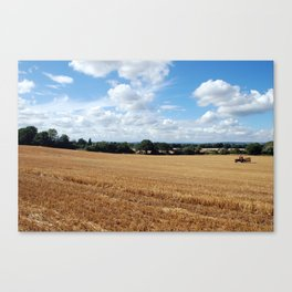 End of the harvest Canvas Print