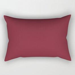 Biking Red Rectangular Pillow