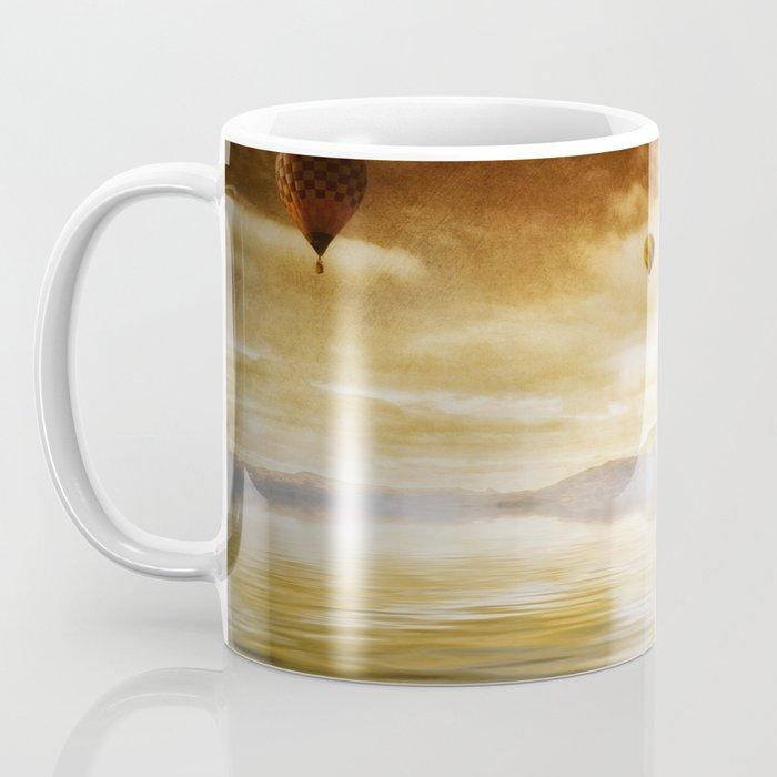 Hot Air Balloon Escape Coffee Mug